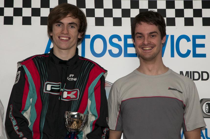 Cédric Wauters & Stefan Verhofsté voor Traxxis CS - winnaars van de 2u nachtrace in Goes