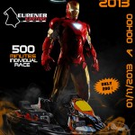 Christophe Verhoeven 3e in Iron Man 2013 Eupen