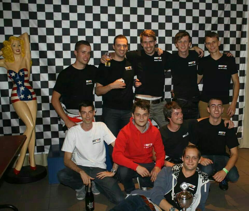(deel van) Traxxis delegatie in Bilzer Karting