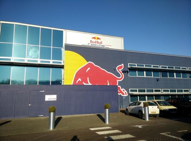Red Bull receptie
