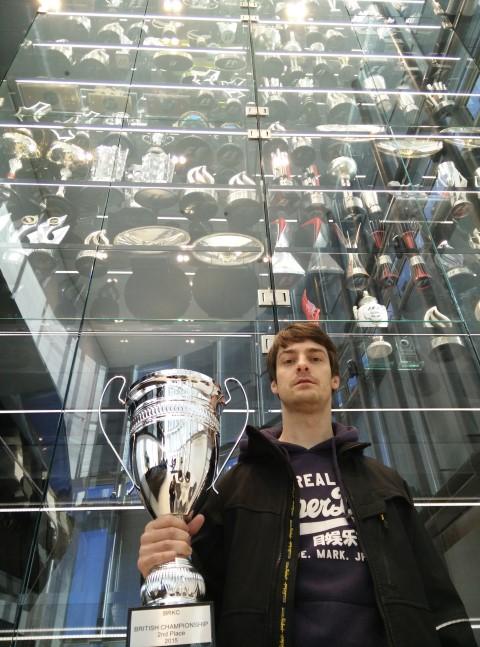 voor de Red Bull trofeeënkast