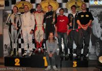 555 laps KCR - podium