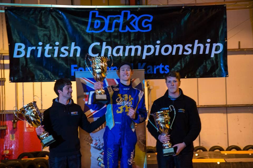 BRKC 2015 podium: Stefan Verhofsté - Ruben Boutens - Ed White