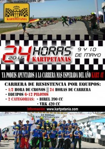 Kartpetania 2015 - affiche
