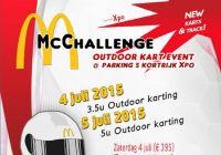 McChallenge Kortrijk 2015 flyer