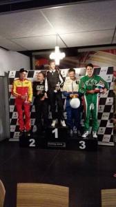 100 miles 13/08/2015 - podium