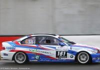 De BMW 3 waar Cédric mee zal rijden