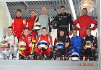 Karting Eupen - piloten weight test