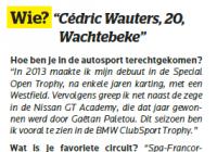 Turbo Magazine - excerpt interview Cédric Wauters