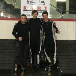 Traxxis-leden vooraan na seizoen BK Trophy