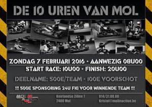 10u van Mol 2016 - flyer