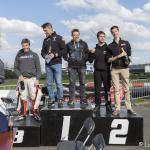 Traxxis vooraan bij Kick-off races 2016 te Brugge