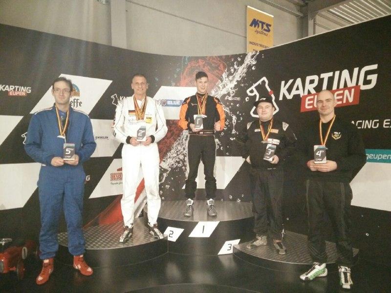 Rental Kart Masters - podium 100 kg