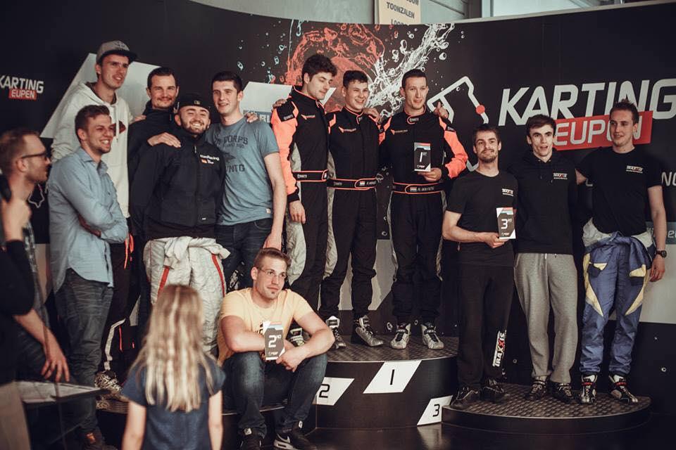 Traxxis CU@Finish 3e plek