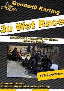 wet race Olen 28/05/2016 - affiche