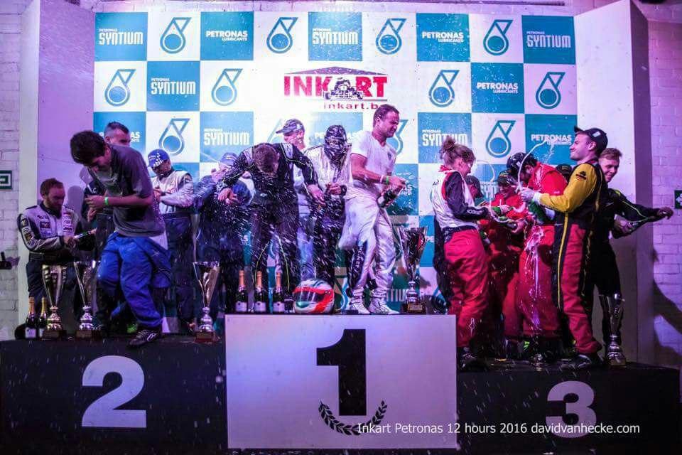 Inkart 12h 2016 - podium